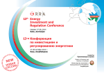 13th Energy Investment and Regulation Conference 13-я