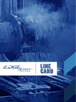 LINE CARD LINE CARD - Tool and Abrasive Supply, Inc.
