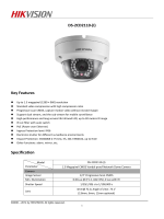 DS-2CD2110 - Neotech Security Systems