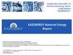 KAZENERGY National Energy Report