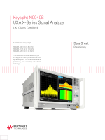 Keysight N9040B UXA X-Series Signal Analyzer
