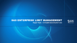 SAS ENTERPRISE LIMIT MANAGEMENT