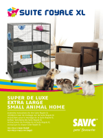 super de luxe extra large small animal home