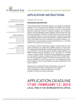 APPLICATION INSTRUCTIONS - US-CAEF