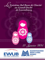 russian club of luxembourg - Russian Charity Ball in Luxembourg