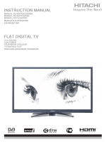 INSTRUCTION MANUAL FLAT DIGITAL TV