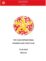BUSINESS CASE STUDY CLUB