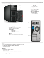 ThinkServer TS440 - Overview