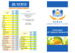 CATALOGUE OF TOBACCO PRODUCTS