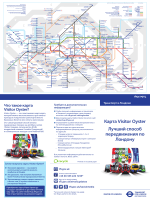 Карта Visitor Oyster - Transport for London