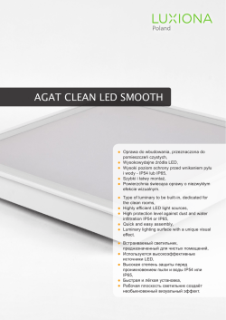 AGAT CLEAN LED SMOOTH