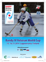 Bandy IV Veteran World Cup