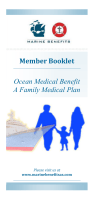 Ocean Medical Benefit A Family Medical Plan