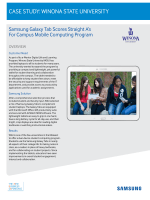Case study: winona state university