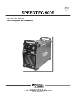 SPEEDTEC 500S - Lincoln Electric