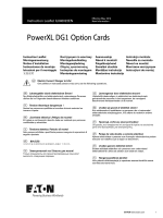 PowerXL DG1 Option Cards