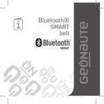 Bluetooth - Geonaute