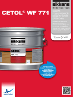 CETOL WF 771 RU - Sikkens Wood Coatings