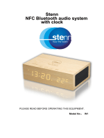 Stenn NFC Bluetooth audio system with clock