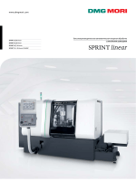 SPRINT linear - DMG MORI Россия
