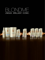 Информацию О BLONDME Colour (PDF 1.8MB)