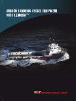 Anchor Handling Vessel Equipment with LOADLIM