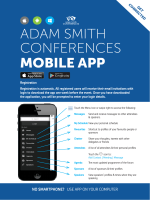 ADAM SMITH CONFERENCES MOBILE APP