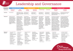 Leadership and Governance