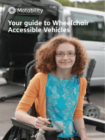 Your guide to Wheelchair Accessible Vehicles