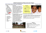 Child Friendly School Reconstruction Project
