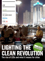 Lighting the clean revolution