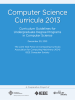 Computer Science Curricula 2013