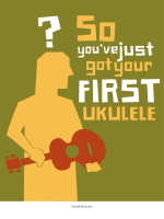 So You've Just Got Your First Ukulele
