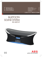 Bluetooth sound system