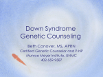 Down Syndrome Genetic Counseling