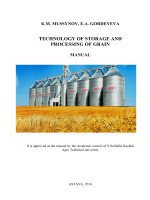 Technology of storage and processing of grain