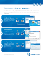 TeamViewer â   Instant meetings