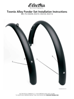 Townie Alloy Fender Set Installation Instructions