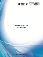 Be-on-road 3.9 user guide