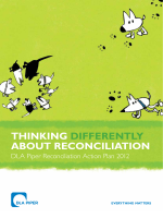 Thinking differently about reconciliation