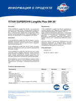 TITAN SUPERSYN Longlife Plus 0W-30