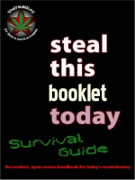 Steal This Booklet Today Survival Guide