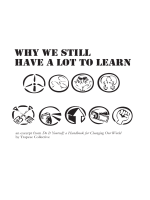 Why we still have a lot to learn