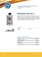 NGN Brake fluid dot 4