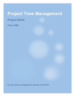 Project Time Management