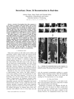 StereoScan: Dense 3d Reconstruction in Real-time