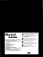 Take special care with Nytol Herbal Tablets