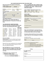 2015 CAMPER REGISTRATION TORCH TRAIL BIBLE