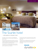 The Scarlet hotel