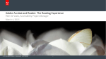Adobe Acrobat and Reader: The Reading Experience